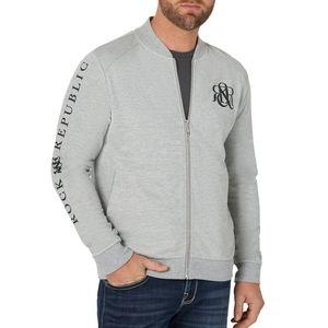 Rock&Republic Men's French Terry ZipUp Logo Jacket